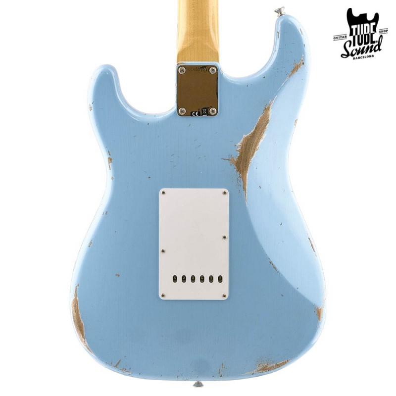 Fender Custom Shop Custom Order Stratocaster 63 RW Relic-Closet Classic Daphne Blue