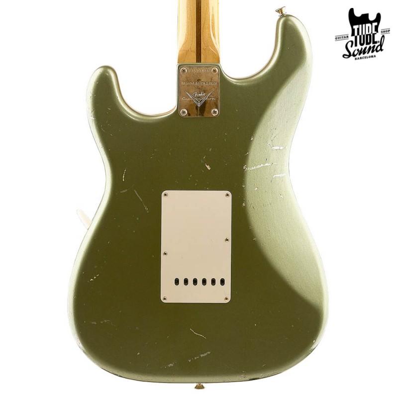 Fender Custom Shop Stratocaster 50s Master Design Relic MN Moss Green