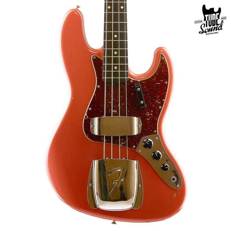 Fender Custom Shop Custom Order Jazz Bass '64 RW Journeyman Fiesta Red