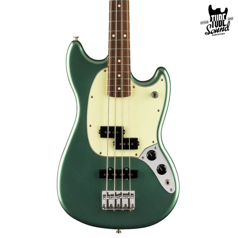 Fender Mustang Bass PJ LTD PF Sherwood Green Metallic