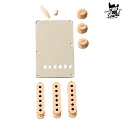 Fender Strat Accessory Kits Aged White