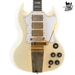 Gibson Custom SG Custom Jimi Hendrix 1967 Murphy Lab Aged Polaris White