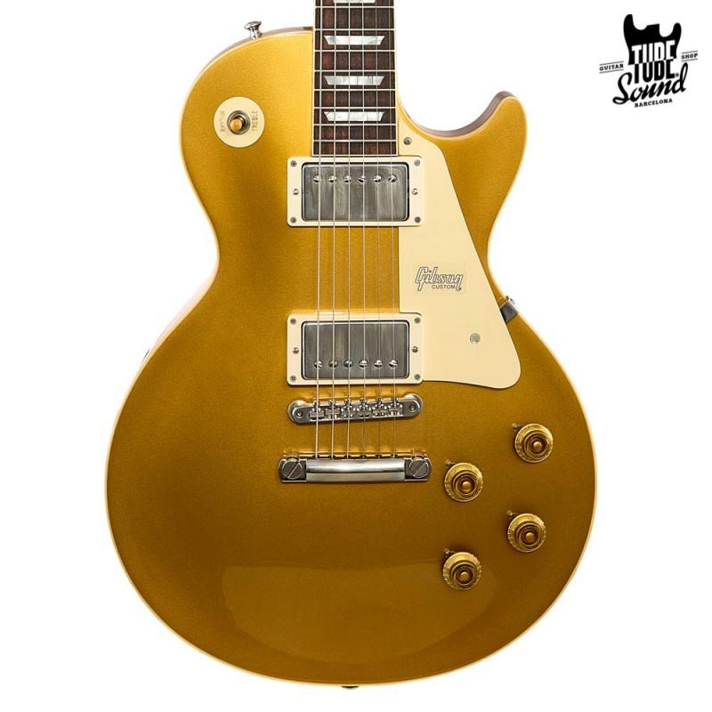 Gibson Custom Les Paul Historic 57 Gloss Antique Gold Top