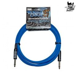 Tsunami Cables G10-SSTB Right 3m Tsunami Blue
