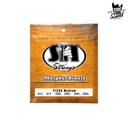 Sit Strings P1356 Phosphor Bronze Acoustic Medium 13-56