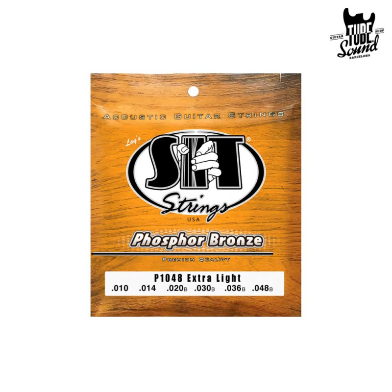 Sit Strings P1048 Phosphor Bronze Acoustic Extra Light 10-48