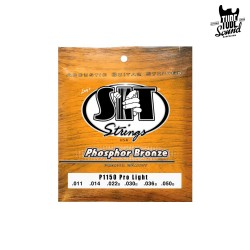 Sit Strings P1150 Phosphor Bronze Acoustic Pro Light 11-50