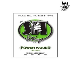 SIT Strings NR45105L NPS Power Wound Bass Medium Light 45-105