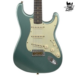 Fender Custom Shop Stratocaster 60 Ltd. Ed. RW Journeyman Faded Aged Sherwood Green Metallic