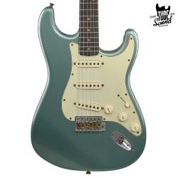 Fender Custom Shop Stratocaster 60 Ltd. Ed. RW Journeyman Faded Aged Sherwood Green Metallic