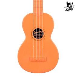 Kala KA-SWF-OR Waterman Soprano Ukulele Fluorescent Orangesicle