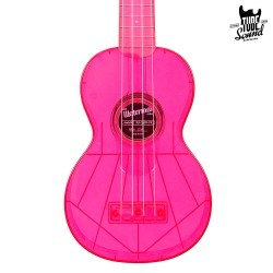 Kala KA-SWF-PK Waterman Soprano Ukulele Fluorescent Watermelon Pink