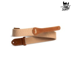 "Taylor 2"" GS Mini Cotton Guitar Strap Tan"