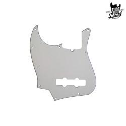 Fender Jazz Bass Pickguard AM SRS 10 Holes LH White