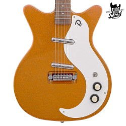 Danelectro 59M NOS+ Orange Adelic Metal Flake