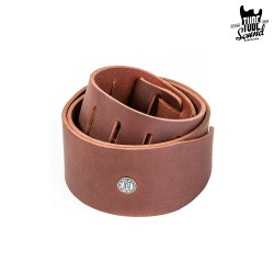 Dunlop BMF13BR Belt Leather Strap Brown