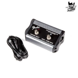Fender Footswitch 2 Button Channel Gain More Gain