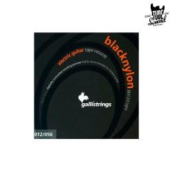Gallistrings BN120 Black Nylon Guitar 12-56