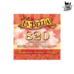La Bella Red Nylon 820 Brillant Flamenco 29-42