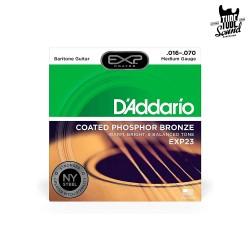 D'Addario EXP23 Phosphor Bronze Acoustic Baritone 16-70