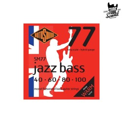 RotoSound SM77 Flat Wound Jazz Bass 40-100
