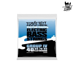 Ernie Ball 2808 Flatwound Group IV Bass 40-95