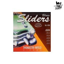 Thomastik-Infeld SL109 Blues Sliders Round Wound Electric 09-43