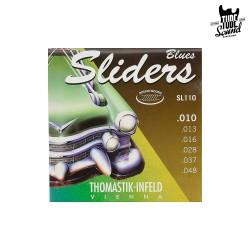 Thomastik-Infeld SL110 Blues Sliders Round Wound Electric 10-48
