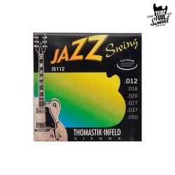 Thomastik-Infeld JS112 Jazz Swing Flat Wound Electric 12-50