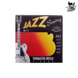 Thomastik-Infeld JS111 Jazz Swing Flat Wound Electric 11-47