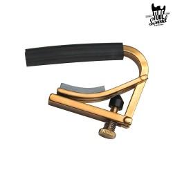 Shubb C3B 12 String Curved Capo Plain Brass