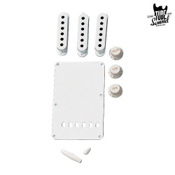 Fender Strat Vintage Style Accessory Kit Aged White