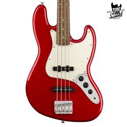 Squier Jazz Bass Contemporany LR Dark Metallic Red