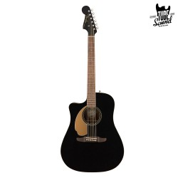 Fender Redondo Player WN Jetty Black Zurda