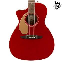 Fender Newporter Player WN Candy Apple Red Zurda