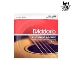 D'Addario EJ17 Phosphor Bronze Acoustic Medium 13-56