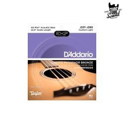 D'Addario EXPPBB190GS GS Mini Acoustic Bass Phosphor Bronze Custom Light 37-90