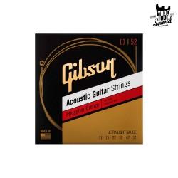 Gibson SAG-PB11 Phosphor Bronze Acoustic Ultra Light 11-52