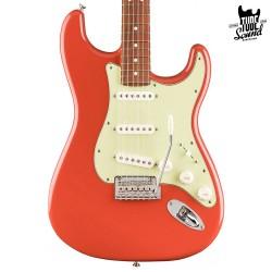 Fender Stratocaster Ltd. Ed. Player PF Fiesta Red