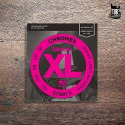 D'Addario ECB81-5 Chromes Bass 5 Strings Light 45-132