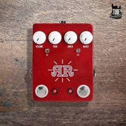 JHS Pedals Ruby Red Butch Walker Signature 2 in 1 Overdrive Fuzz Boost