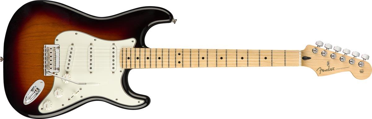 Fender Stratocaster Player MN 3 Color Sunburst