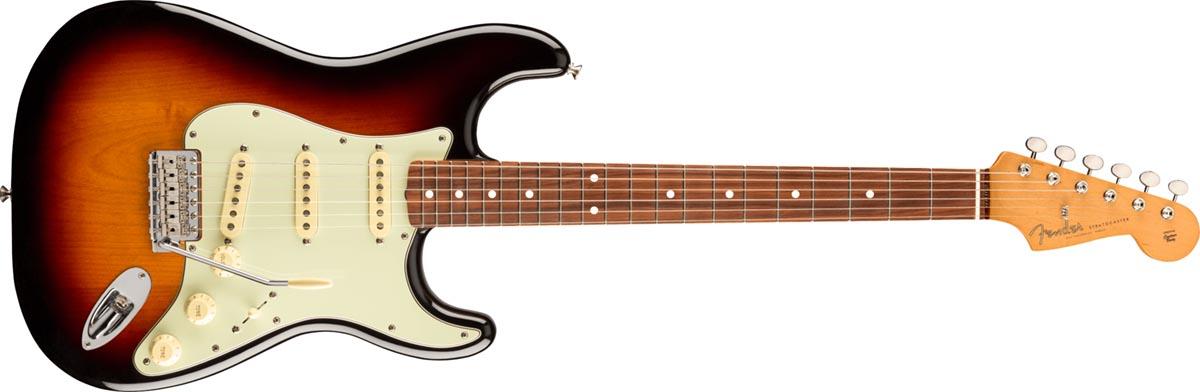 Fender Stratocaster Vintera 60s PF 3 Color Sunburst