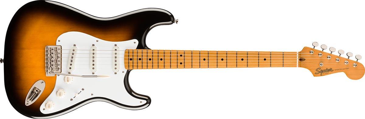 Squier Stratocaster Classic Vibe 50s MN Black