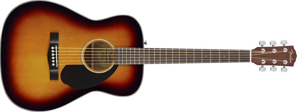 Fender CC-60S Concert WN 3 Color Sunburst