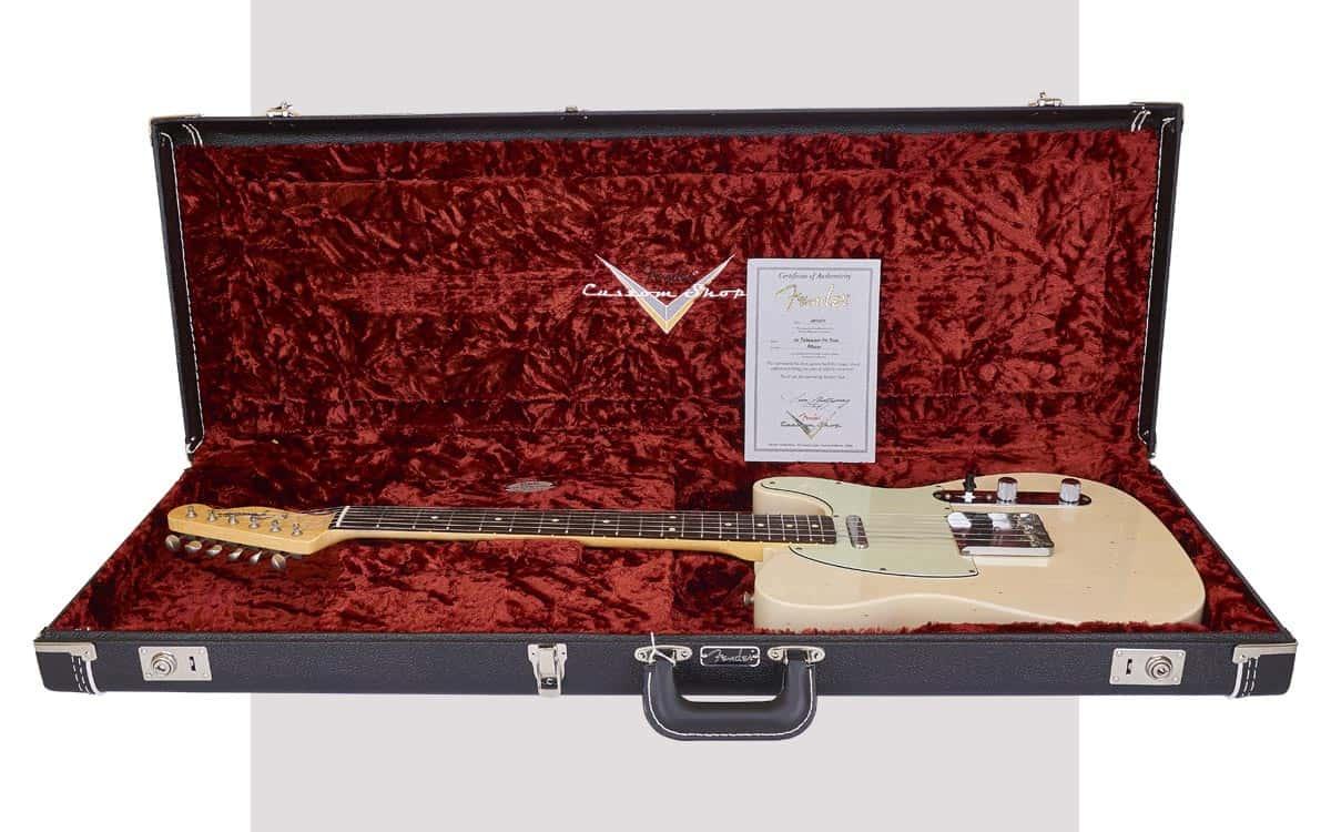 Fender Custom Shop Custom Order Telecaster '60 Journeyman RW Aged White Blonde