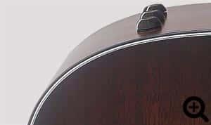 Tapa armónica sólida de Caoba Tropical