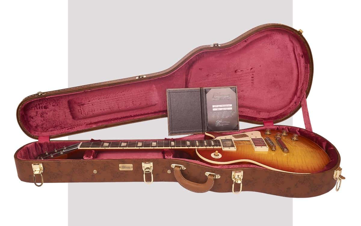 Gibson Custom Les Paul Standard Historic 60 Reissue VOS Washed Cherry