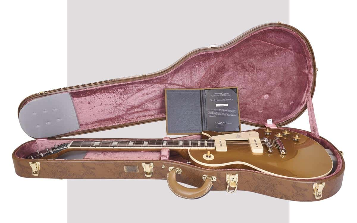 Gibson Custom Les Paul Historic '56 Antique GoldTop
