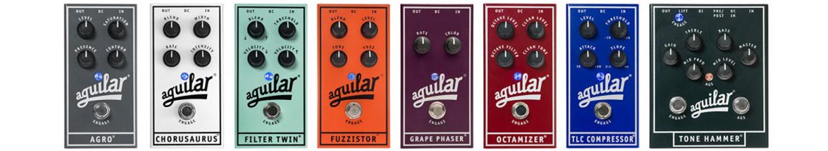 Aguilar Pedals Tube Sound